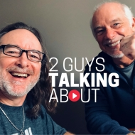 2 Guys Talking About LogoPic